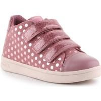 Topánky Dievčatá Nízke tenisky Geox J Djrock GD Ružová