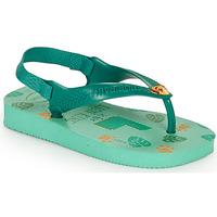 Topánky Deti Žabky Havaianas BABY DISNEY CLASSICS II Zelená