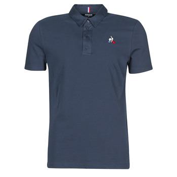 Oblečenie Muži Polokošele s krátkym rukávom Le Coq Sportif ESS POLO SS N°2 M Modrá