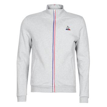 Oblečenie Muži Vrchné bundy Le Coq Sportif ESS FZ Sweat N°2 M Šedá / Frkaná