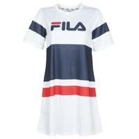 Oblečenie Ženy Krátke šaty Fila Basanti Biela / Námornícka modrá / Červená