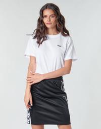 Oblečenie Ženy Tričká s krátkym rukávom Fila EARA Biela