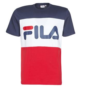 Oblečenie Muži Tričká s krátkym rukávom Fila DAY Námornícka modrá / Červená / Biela