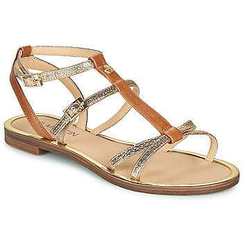 Topánky Ženy Sandále JB Martin 1GRIOTTES Hnedá / Zlatá