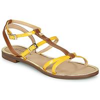 Topánky Ženy Sandále JB Martin 1GRIOTTES Žltá / Hnedá