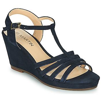 Topánky Ženy Sandále JB Martin QUIRA Námornícka modrá