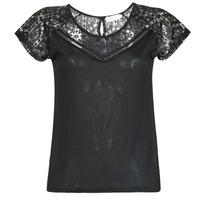 Oblečenie Ženy Tričká s krátkym rukávom Deeluxe CLEA Čierna