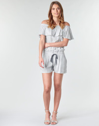 Oblečenie Ženy Módne overaly Deeluxe FAYME Biela / Modrá