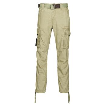 Oblečenie Muži Nohavice Cargo Deeluxe TROPERY Kaki