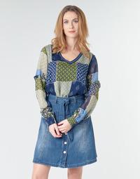 Oblečenie Ženy Blúzky Cream CLODIE Modrá