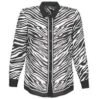 Oblečenie Ženy Košele a blúzky Ikks BQ12105-03 Čierna / Biela
