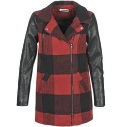 Oblečenie Ženy Kabáty Noisy May TEXAS Červená / Čierna