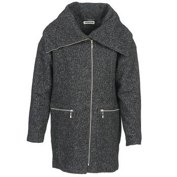 Oblečenie Ženy Kabáty Noisy May ROUND Šedá / Čierna