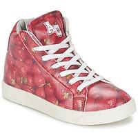 Topánky Dievčatá Členkové tenisky American College RED červená