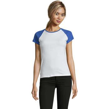 Oblečenie Ženy Tričká s krátkym rukávom Sols MILKY BICOLOR SPORT Multicolor