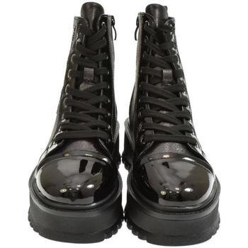 Topánky Ženy Čižmičky Yal Dámske čierne členkové čižmy ARY čierna