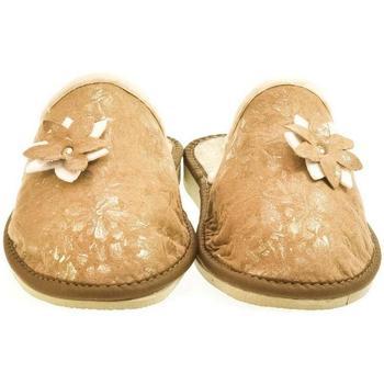 Topánky Ženy Papuče John-C Dámske hnedé papuče 2FLOWE ťavia