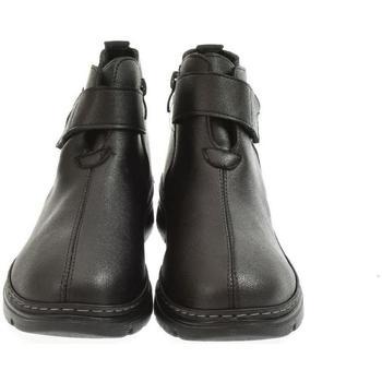 Topánky Ženy Čižmičky Yal Dámske čierne poltopánky PERTY čierna