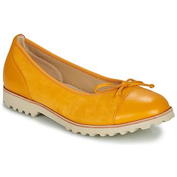 Topánky Ženy Balerínky a babies Gabor KRINE Žltá