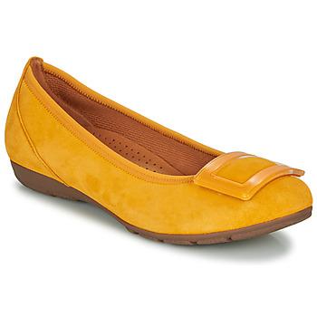 Topánky Ženy Balerínky a babies Gabor KASTIPON Žltá