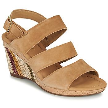 Topánky Ženy Sandále Gabor KARAMBA Hnedá