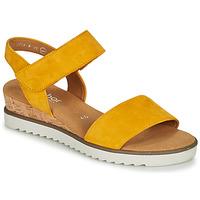 Topánky Ženy Sandále Gabor KARIBITOU Žltá