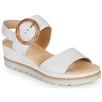 Topánky Ženy Sandále Gabor KOKREM Biela