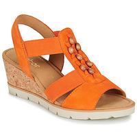 Topánky Ženy Sandále Gabor KALINA Oranžová