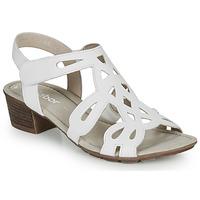 Topánky Ženy Sandále Gabor KELELE Biela