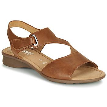 Topánky Ženy Sandále Gabor  Koňaková