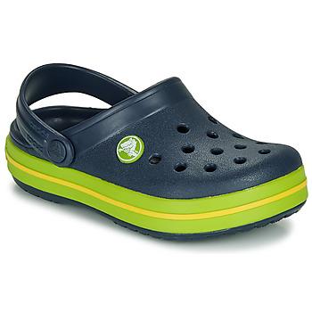 Topánky Deti Nazuvky Crocs CROCBAND CLOG K Námornícka modrá / Zelená