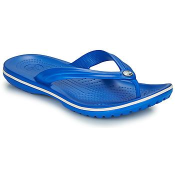 Topánky Žabky Crocs CROCBAND FLIP Modrá