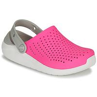 Topánky Dievčatá Nazuvky Crocs LITERIDE CLOG K Ružová / Biela