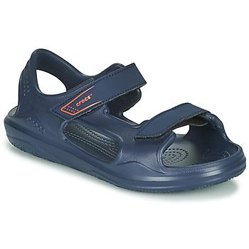 Topánky Deti Športové sandále Crocs SWIFTWATER EXPEDITION SANDAL K Námornícka modrá