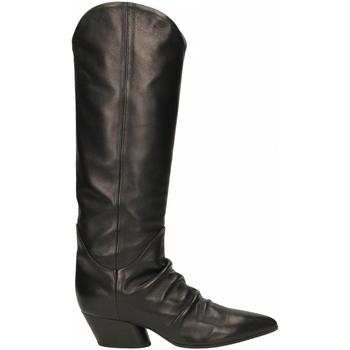Topánky Ženy Čižmy do mesta Halmanera BARON nero