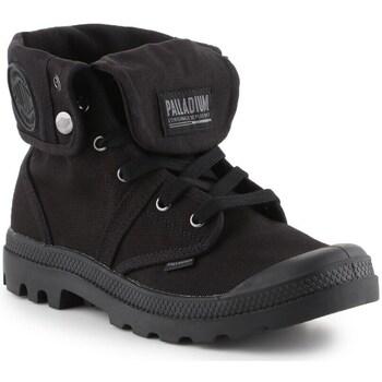 Topánky Muži Členkové tenisky Palladium Manufacture Baggy Čierna