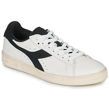 Topánky Nízke tenisky Diadora GAME L LOW USED Biela / Čierna