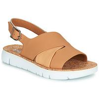 Topánky Ženy Sandále Camper TWINS Svetlá telová / Biela