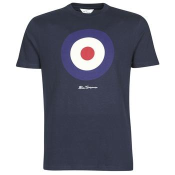 Oblečenie Muži Tričká s krátkym rukávom Ben Sherman SIGNATURE TARGET TEE Námornícka modrá