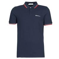 Oblečenie Muži Polokošele s krátkym rukávom Ben Sherman SIGNATURE POLO Námornícka modrá / Červená / Biela