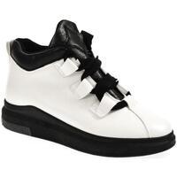 Topánky Ženy Členkové tenisky Wde Dámske biele poltopánky OMIN biela