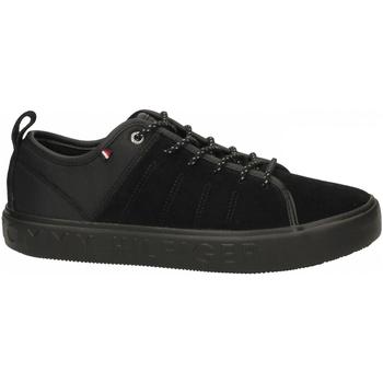 Topánky Muži Módne tenisky Tommy Hilfiger CORPORATE BRANDED CU 990-black-nero