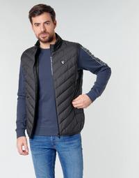 Oblečenie Muži Vyteplené bundy Emporio Armani EA7 TRAIN CORE SHIELD M DOWN LIGHT VEST Čierna