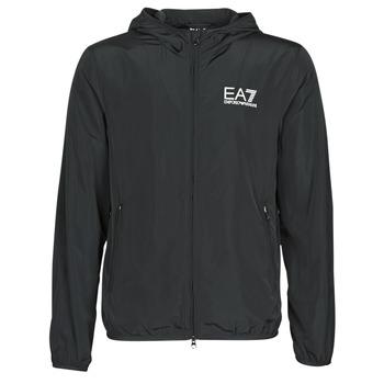 Oblečenie Muži Vetrovky a bundy Windstopper Emporio Armani EA7 TRAIN CORE ID M JACKET Čierna