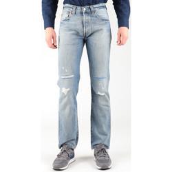Oblečenie Muži Rovné Rifle  Levi's Levis 501-0605 blue