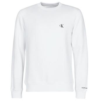 Oblečenie Muži Mikiny Calvin Klein Jeans CK ESSENTIAL REG CN Biela