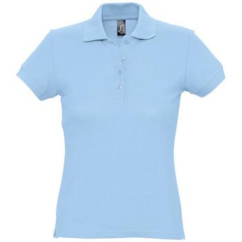 Oblečenie Ženy Polokošele s krátkym rukávom Sols PASSION WOMEN COLORS Azul