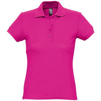 Oblečenie Ženy Polokošele s krátkym rukávom Sols PASSION WOMEN COLORS Violeta