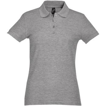 Oblečenie Ženy Polokošele s krátkym rukávom Sols PASSION WOMEN COLORS Gris