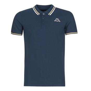 Oblečenie Muži Polokošele s krátkym rukávom Kappa ESMO Modrá